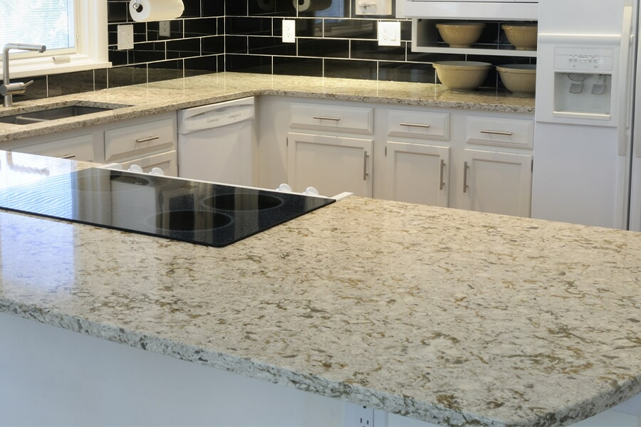 Custom countertops in Verona, WI from Majestic Floors and More LLC