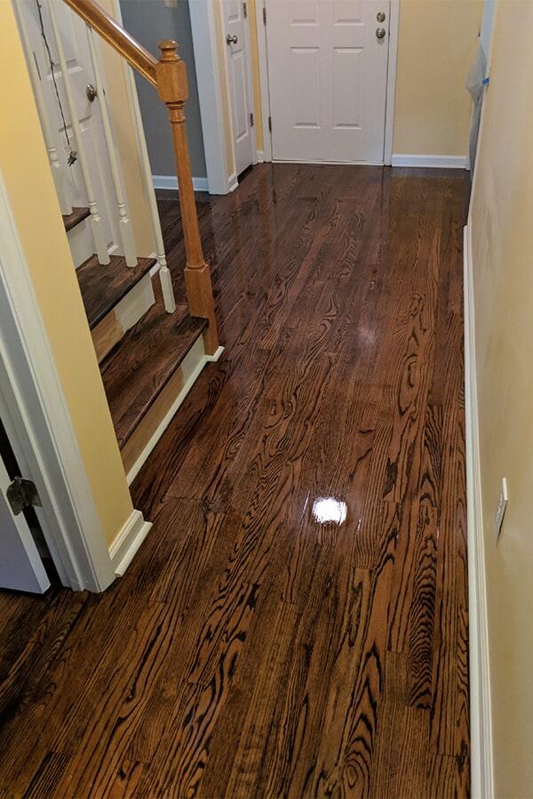 New hardwood flooring in Garner, NC from Clayton Flooring Center