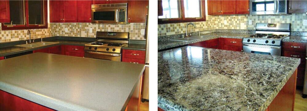 Stunning new countertops in Raleigh, NC from Clayton Flooring Center