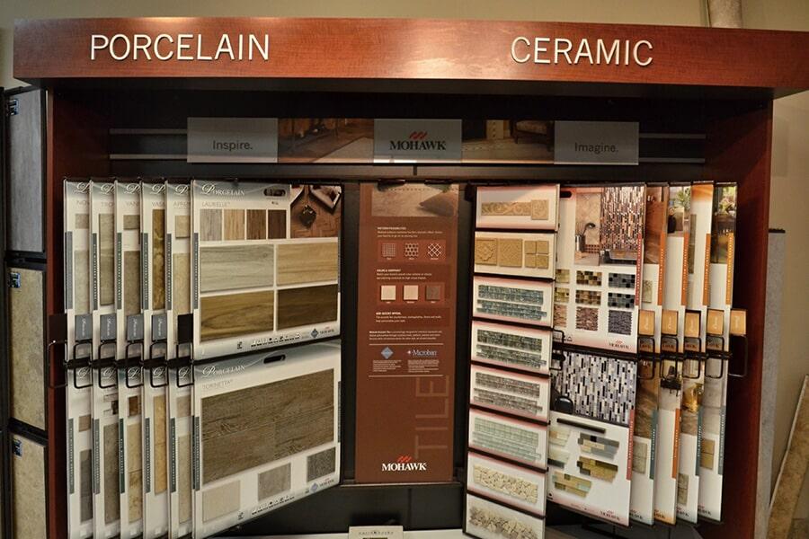 Mohawk porcelain and ceramic tile options for your Garner, NC home