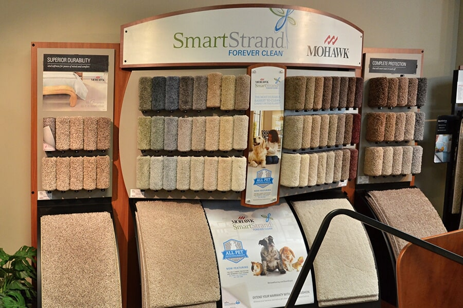 SmartStrand carpet for your Fuquay-Varina, NC home from Clayton Flooring Center