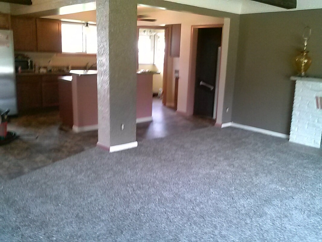 Multi-surface flooring replacement in Woodhaven, MI from Floorz by Bill