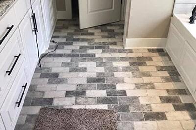 Bathroom tile from Roop's Carpet in Beebe, AR