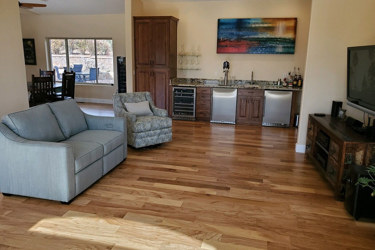 Classic hardwood flooring in Sedona, AZ from Prescott Flooring Brokers