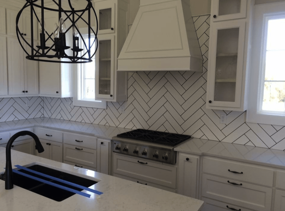 Get a backsplash like this for your Eastborough, KS home from Designers Home Gallery