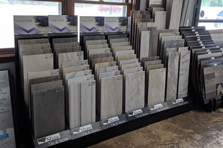 Affordable Flooring showroom in Bourbonnais, IL