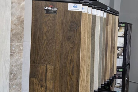 Affordable Flooring showroom in Manteno, IL