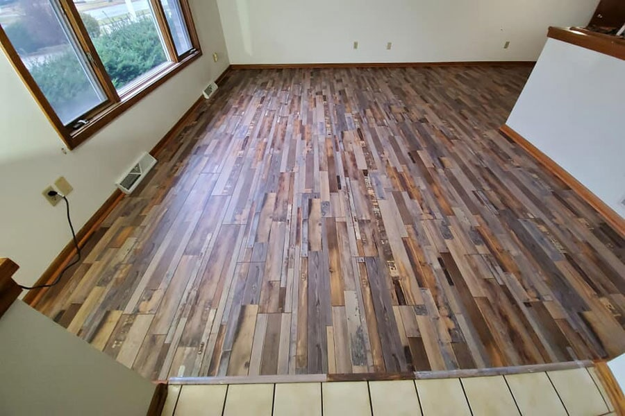 Wood floors from Affordable Flooring in Peotone, IL