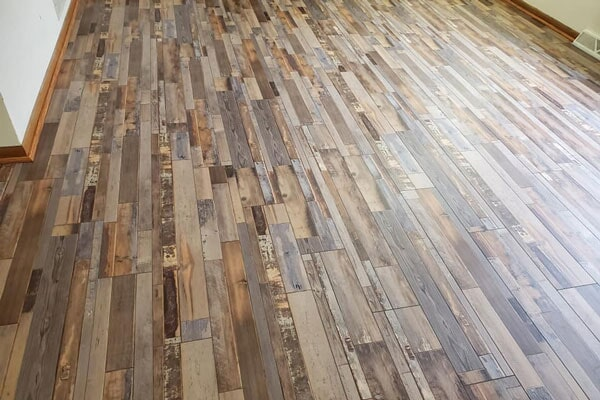 Wood floors from Affordable Flooring in Manteno, IL