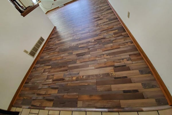 Wood flooring from Affordable Flooring in Bourbonnais, IL