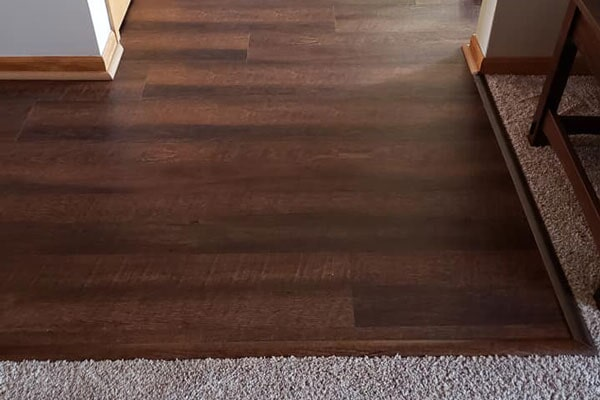 Hardwood flooring from Affordable Flooring in Manteno, IL