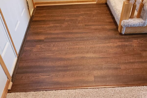 Wood flooring from Affordable Flooring in Kankakee, IL