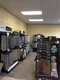 Roop's Carpet showroom in Bald Knob, AR