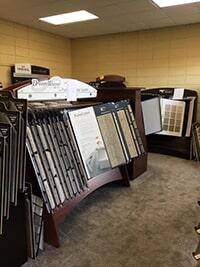 Roop's Carpet showroom in Newport, AR