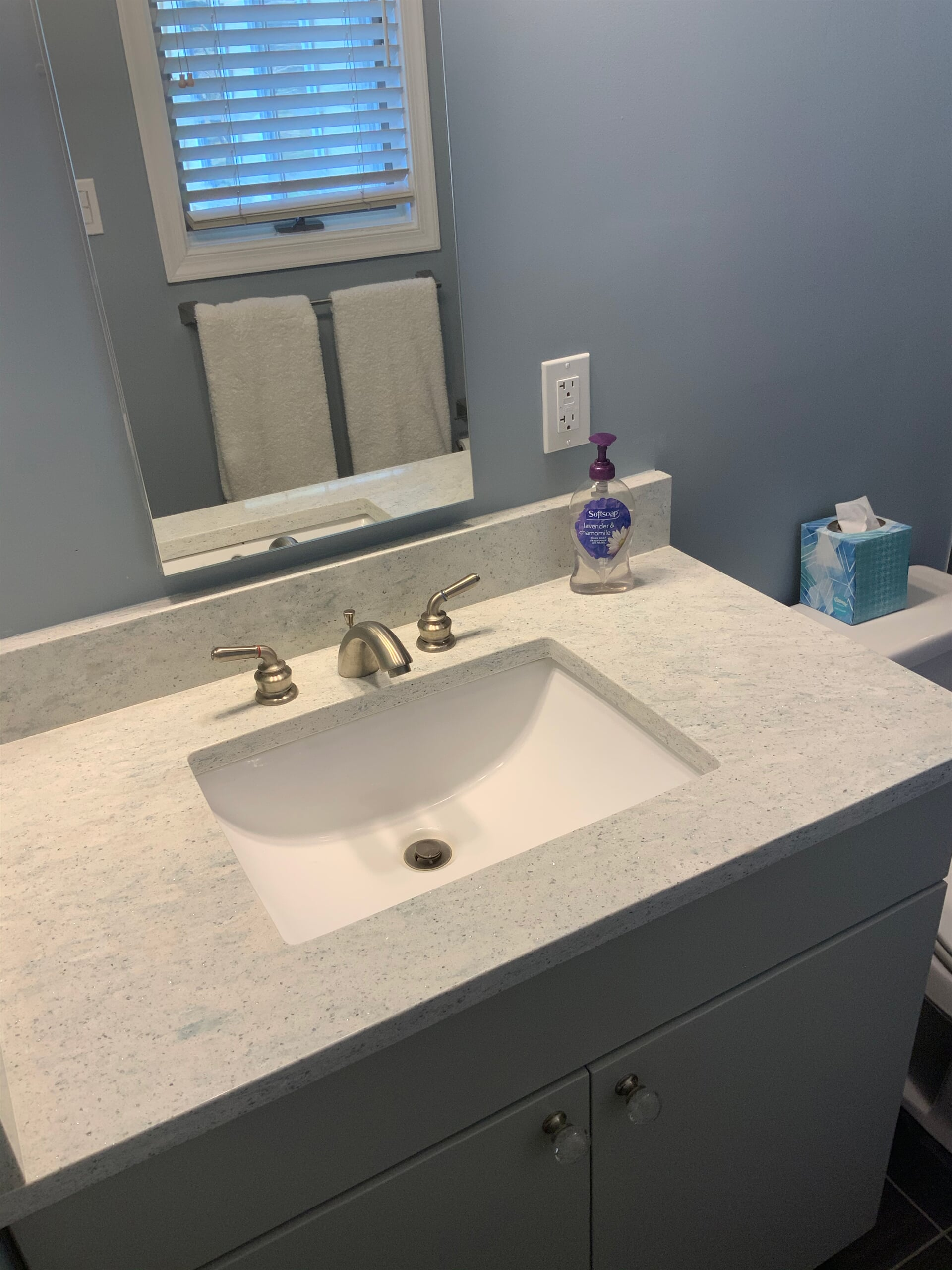 Bathroom remodeling in California, MD by Southern Maryland Kitchen Bath Floors & Design