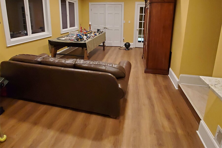 Vinyl flooring installation in Spindale, NC from BPS Southeast