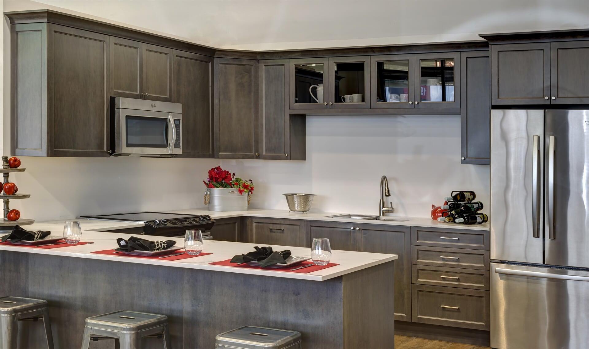 Photo - Kitchen - Manchester Flat Maple in Basalt 2