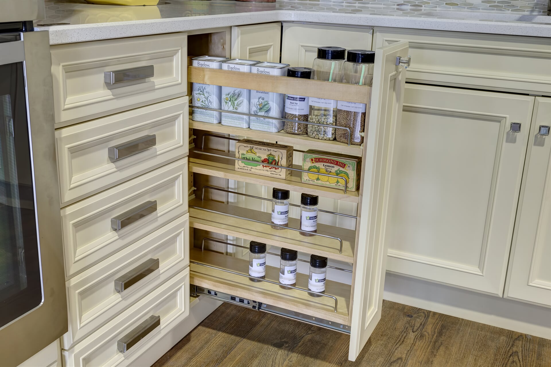 Photo - Accessories - Wood Pullout in Base Cabinet