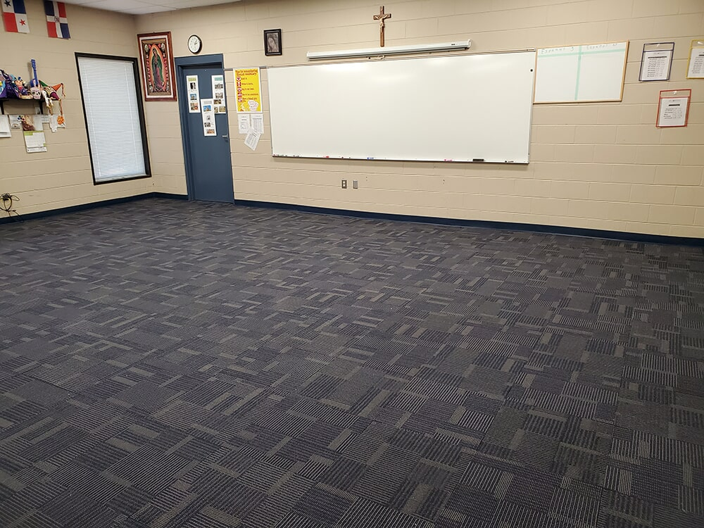 Classroom flooring in Lake Lure, NC from BPS Southeast