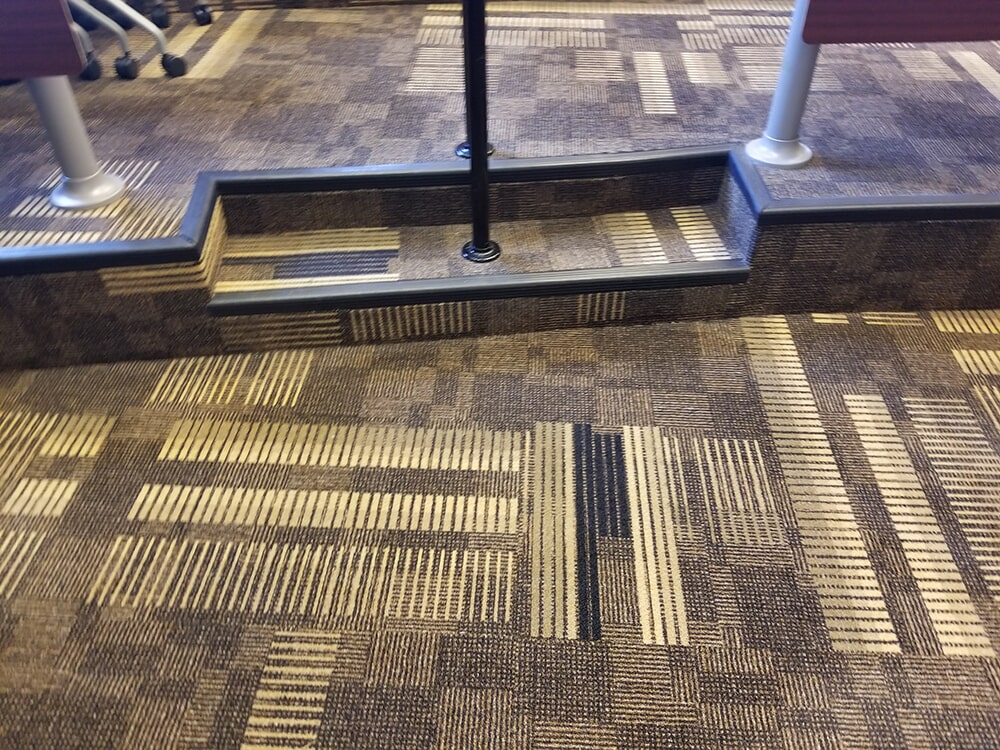 Custom commercial carpet in Columbus, NC from BPS Southeast