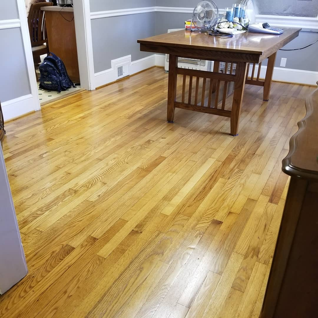 Original wood floor restoration in Spindale, NC from BPS Southeast