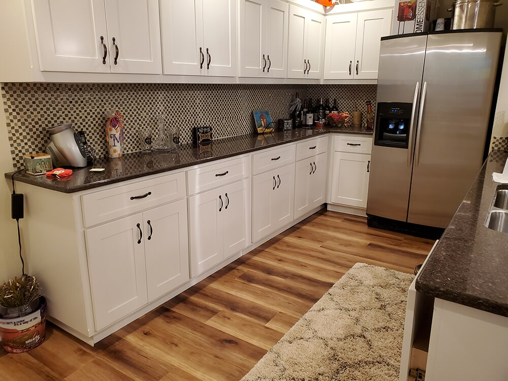 Beautiful kitchen flooring in Hendersonville, NC from BPS Southeast