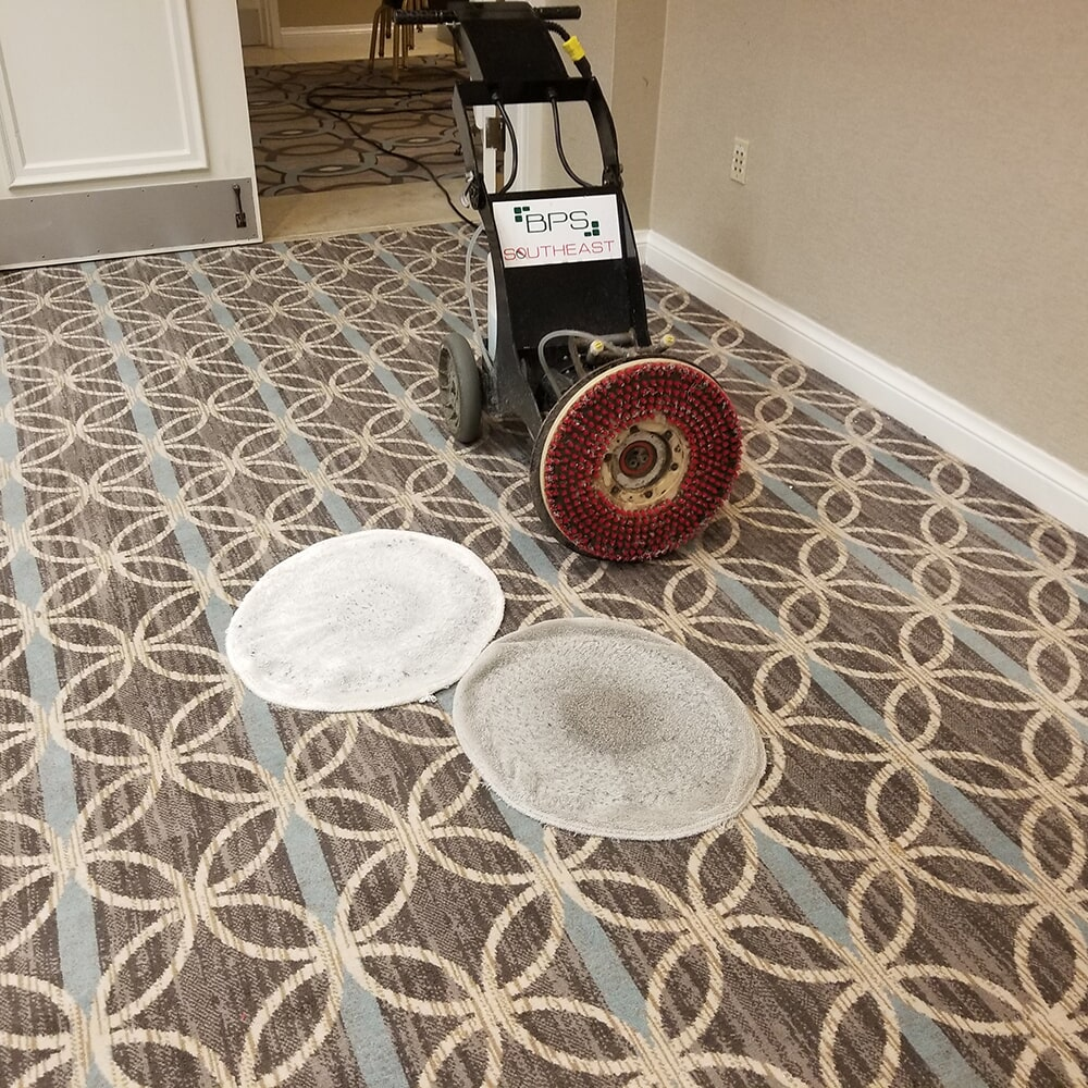 Carpet cleaning machine in Asheville, NC from BPS Southeast