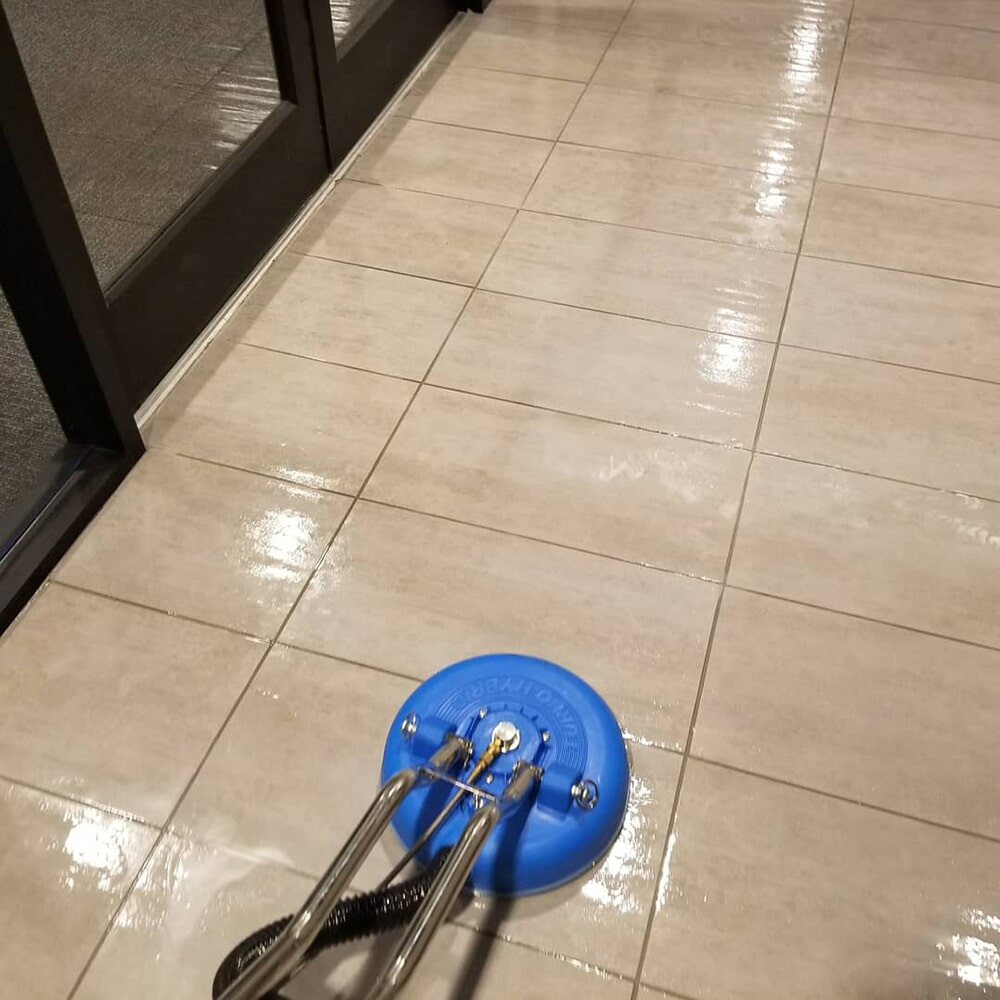 Perfectly clean tile flooring in Columbus, NC from BPS Southeast