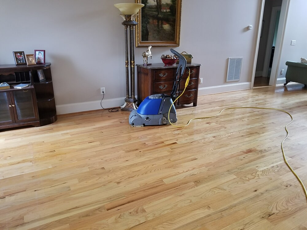 Original hardwood cleaning in Asheville, NC from BPS Southeast