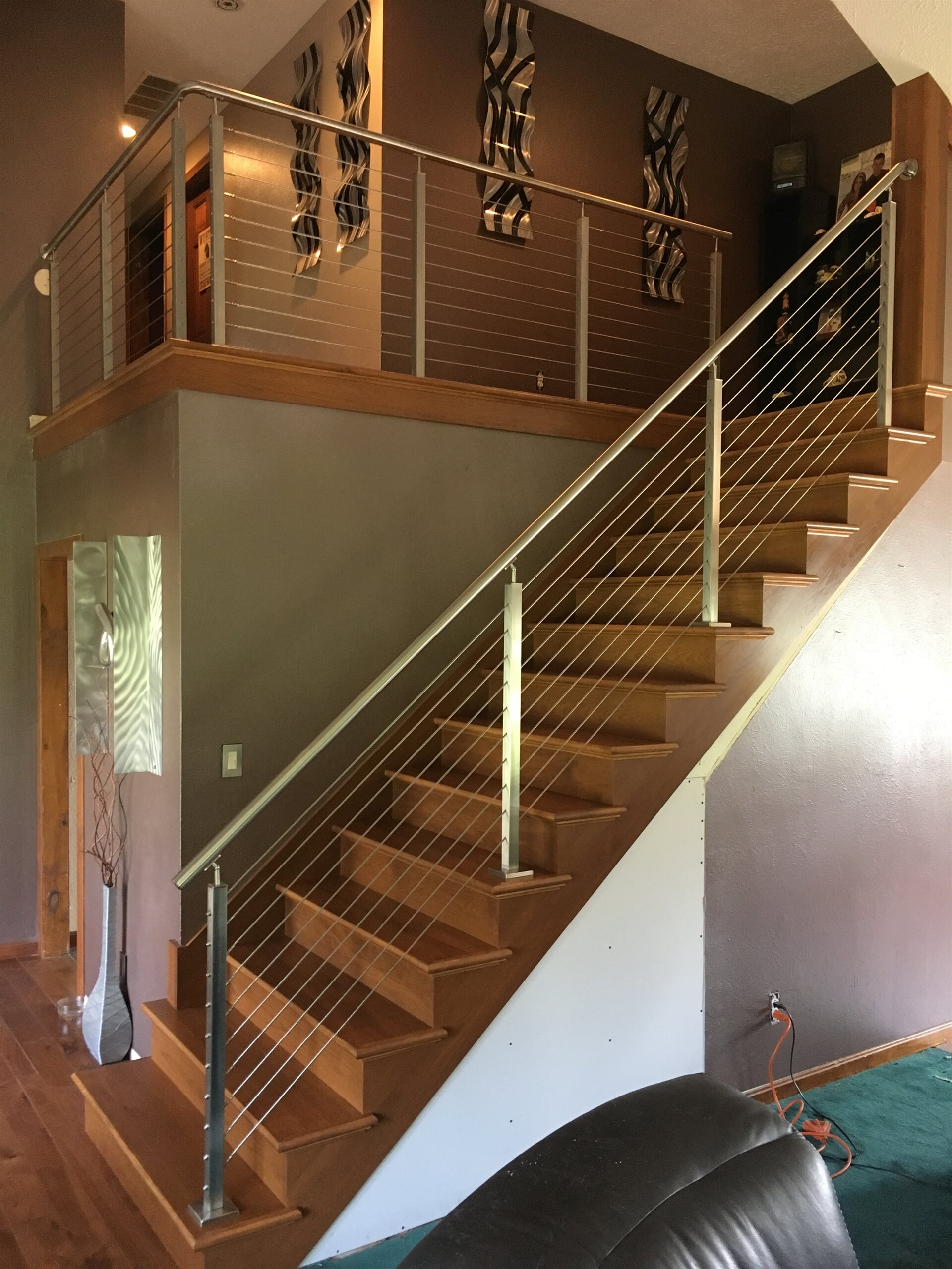 Professional stair installation in Woodhaven, MI from Finishers Unlimited