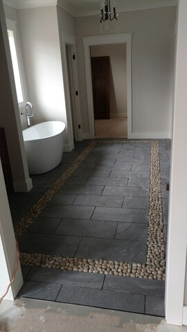 bathroom tile and stone in Solon, OH from Carpet Country