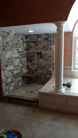 bath tile in Aurora, OH from Carpet Country
