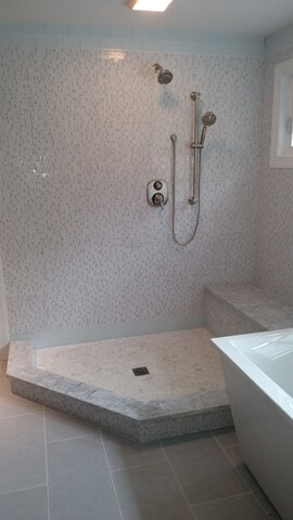 shower tile in Twinsburg, OH from Carpet Country