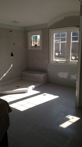 bathroom remodel in Twinsburg, OH from Carpet Country