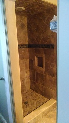 bath tile from Carpet Country in Hudson, OH