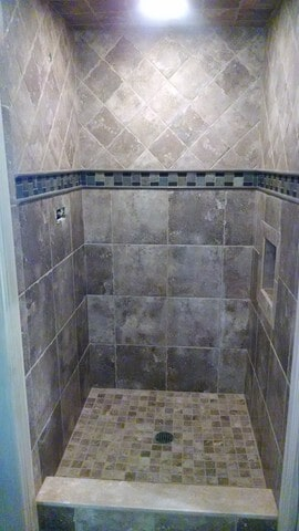 bath tile from Carpet Country in Solon, OH
