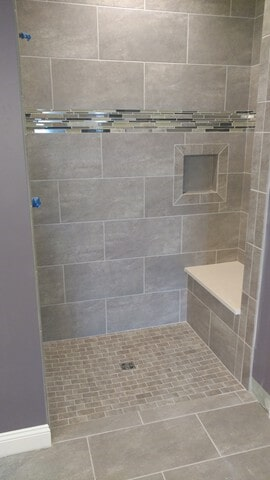 shower tile from Carpet Country in Macedonia, OH