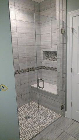 shower tile from Carpet Country in Aurora, OH