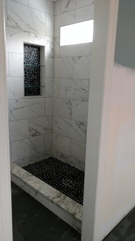 shower tile from Carpet Country in Solon, OH