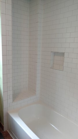 Shower tile from Carpet Country in Twinsburg, OH