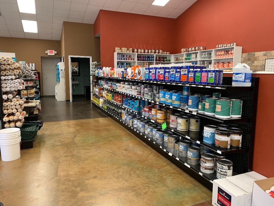 Our showroom in Carroll, TN
