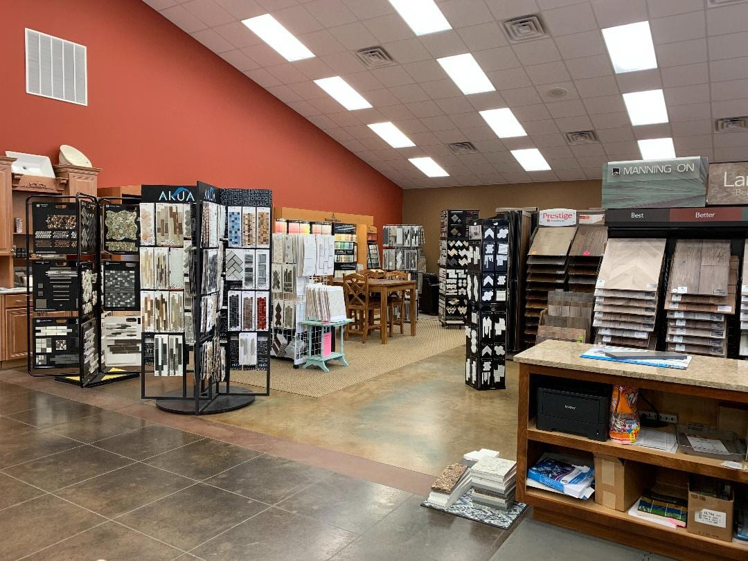 Our showroom in Marshall, KY