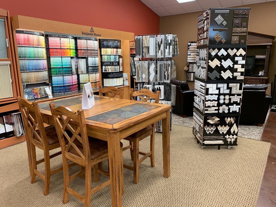 Our showroom in Benton, TN