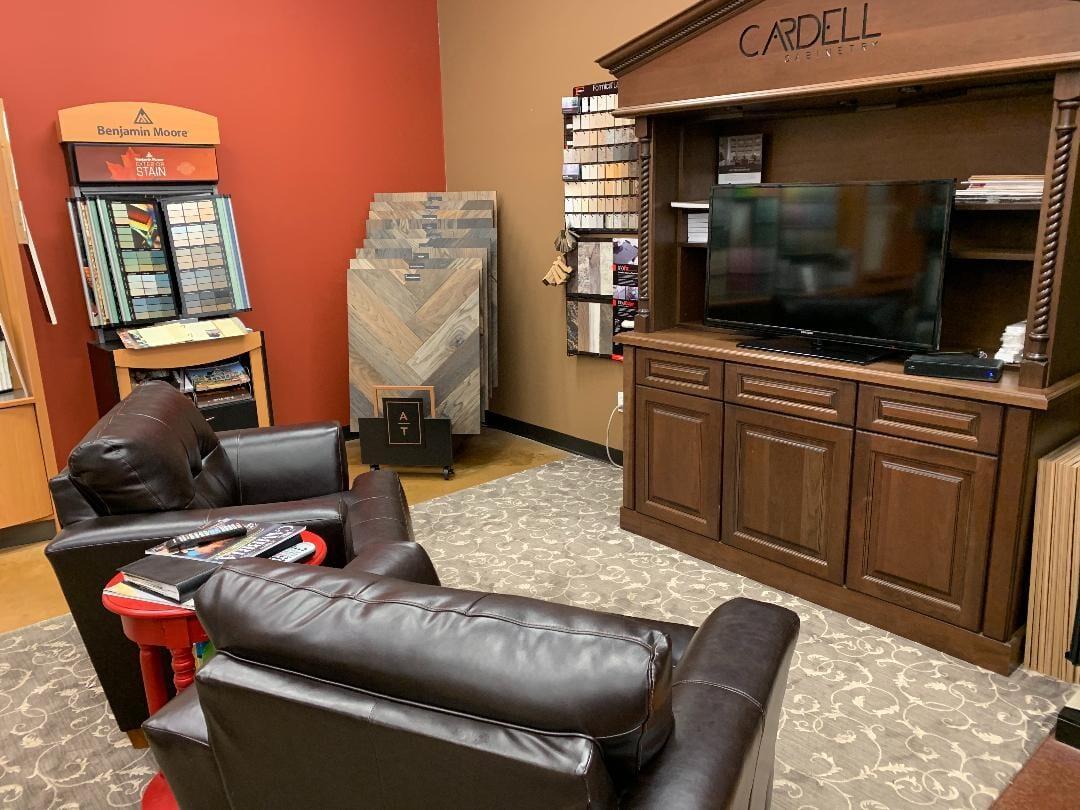 Our showroom in McCracken, KY