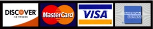 Ability Roofing Accepts Discover, Mastercard, Visa and American Express