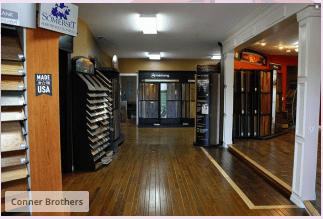 Corner Bros Wood Floors showroom in White County, TN