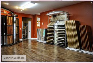 Corner Bros Wood Floors showroom in Smith County, TN