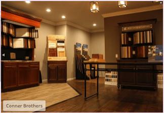 Corner Bros Wood Floors showroom in Overton County, TN
