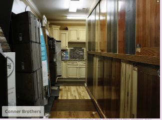 Corner Bros Wood Floors showroom in Putnam County, TN