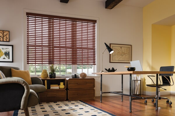 Wood Blinds in Valencia, CA from Carpet Clearance Custom Flooring Center & Window Coverings